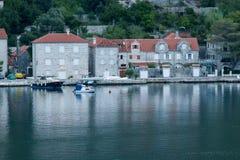 Залив Bocka, Kotor - Черногория Стоковое Фото