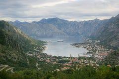 Залив Bocka, Kotor - Черногория Стоковые Фото