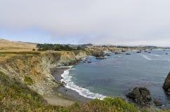 Залив Bodega Стоковые Изображения RF