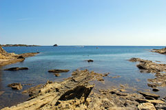 Залив Cadaques Стоковое Изображение RF
