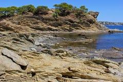 Залив Cadaques Стоковая Фотография