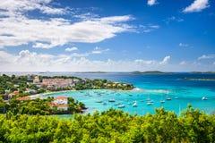 залив caribbean Стоковое фото RF