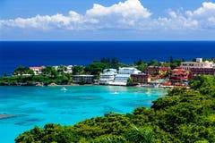 залив caribbean Стоковое Фото