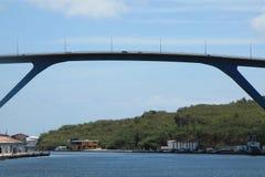 Залив Curacao Sint Анны Стоковые Изображения