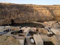 Залив Dwejra стоковое фото rf