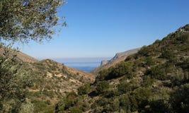 Залив Fodele Стоковое Фото