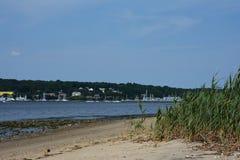 Залив Greenwhich, Род-Айленд, США Стоковые Фотографии RF