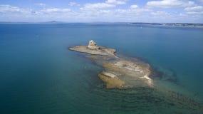 Залив Hauraki, Окленд, Новая Зеландия Стоковые Фото