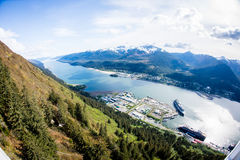 Залив Juneau, Аляска Стоковая Фотография RF
