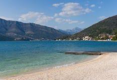 Залив Kotor, Черногории Стоковые Изображения RF