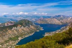 Залив Kotor - Черногория Стоковое Изображение