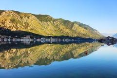 Залив Kotor Стоковая Фотография