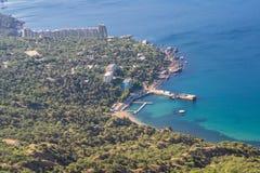 Залив Laspi Seascape Крым Стоковое Изображение