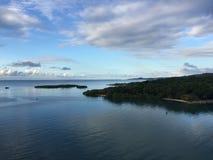 Залив Mahogany Стоковые Изображения RF