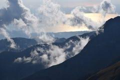 Залив Messinian сверху Стоковые Изображения