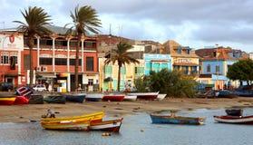 Залив Mindelo Стоковое Изображение RF