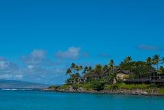 Залив Napili, Мауи, Гаваи Стоковая Фотография RF