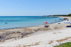 Залив Orosei в Сардинии Италии Стоковое Изображение