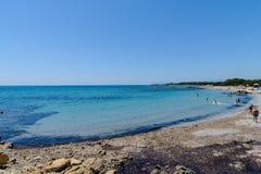 Залив Orosei в Сардинии Италии Стоковые Фотографии RF