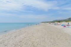 Залив Orosei в Сардинии Италии Стоковые Изображения RF