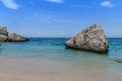 Залив Orosei в Сардинии, Италии Стоковое фото RF