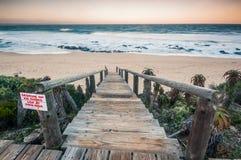 Залив ` s Джеффри, накидка восточная, Южная Африка стоковые фото