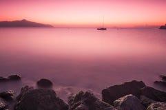 Залив Sausalito Richards, Ca Стоковое Изображение