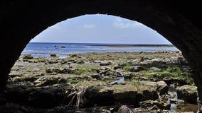 Залив Sella Стоковое Изображение RF