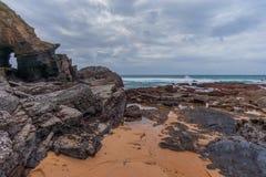 Залив Thompsons стоковые фотографии rf