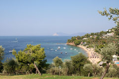 Залив Troulos Стоковая Фотография RF