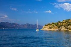 Залив Turunc, Эгейское море Стоковое фото RF
