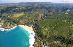 Залив Waimea Стоковые Изображения RF