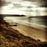Залив Whitsands Стоковое фото RF