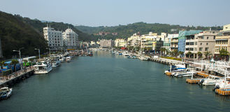 Залив Xizi стоковая фотография rf