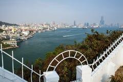 Залив Xizi стоковое изображение