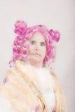 Задиристый сюрреалистический женский характер Стоковые Фото