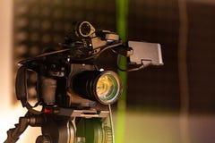 За кулисами видео- стрельбы продукции или видео Стоковые Изображения
