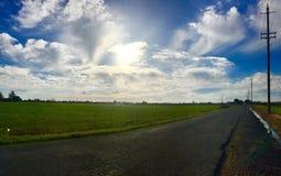 Задние дороги Стоковая Фотография