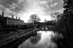 Задние части, Кембридж Стоковая Фотография