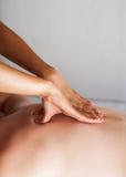 задний массаж Стоковые Фото