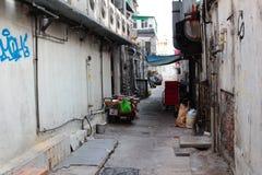 Задний переулок в kung sai Стоковое Фото
