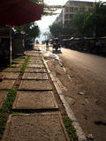 Задний переулок Пномпень Стоковое Изображение