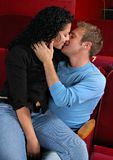 задний рядок поцелуя Стоковое фото RF