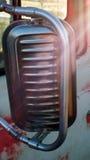 Задняя сторона зеркала тележки Стоковые Изображения RF