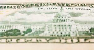 Задняя сторона доллара Стоковые Фотографии RF
