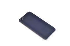 Задняя сторона предпосылки изолированной smartphone белой Стоковая Фотография RF
