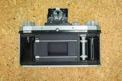 Задняя сторона старой камеры Стоковые Фото