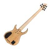 Задняя сторона электрической басовой гитары Стоковая Фотография