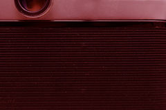 Задняя часть камеры фильма с крышкой Макрос сбор винограда структуры фото абстрактной предпосылки однотиповый тонизировать стоковые изображения rf