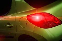 Задняя часть современного автомобиля Стоковое фото RF